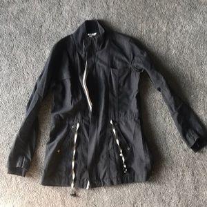 CAbi charcoal utility jacket style #209